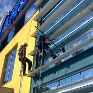 Výškové práce - Čistenie okien (1)