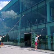 Výškové práce - Čistenie okien (4)