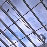 Výškové práce - Čistenie okien (5)