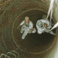 Výškové práce - Asanácia komínov (1)