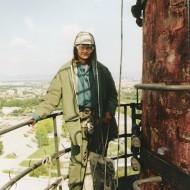 Výškové práce - Asanácia komínov (2)