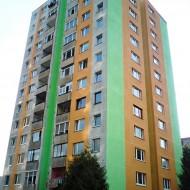 Výškové práce - Maľovanie fasády (2)