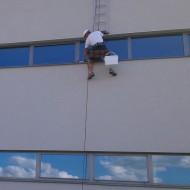 Výškové práce - Montáž a oprava atikových plechov (1)