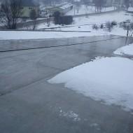 Výškové práce - Odpratávanie snehu zo striech